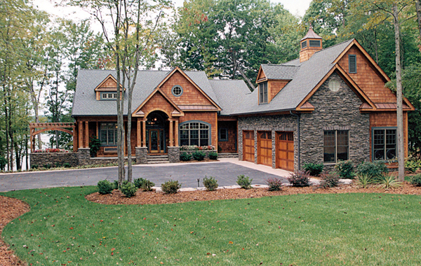 Glen creek luxury home plan 129s 0023 house plans and more for Walkout basement sunroom