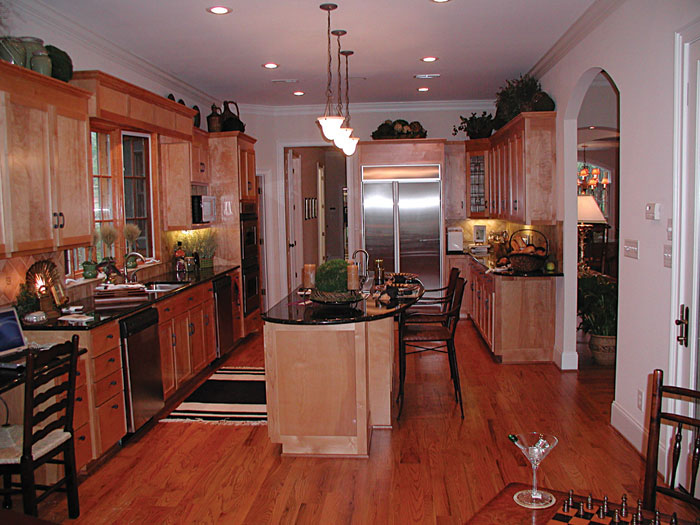 Cabin and Cottage Plan Kitchen Photo 01 129S-0023
