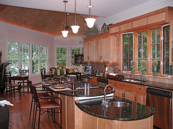 Cabin and Cottage Plan Kitchen Photo 04 129S-0023