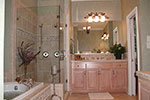 Arts & Crafts House Plan Master Bathroom Photo 01 - 129S-0023 | House Plans and More