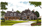 Early American House Plan Front Image - 129S-0024 | House Plans and More