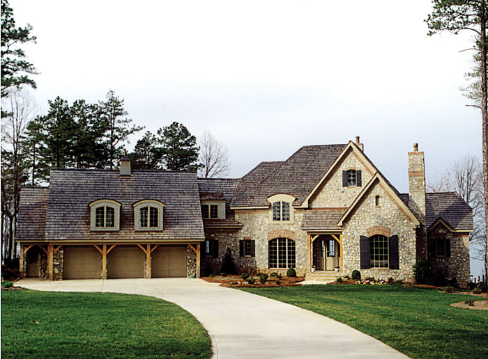European House Plan Front Photo 01 129S-0024