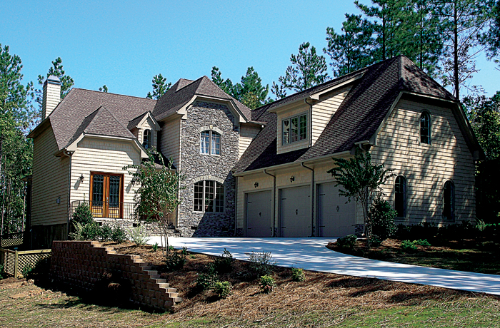European House Plan Front of Home 129S-0025