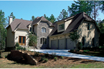 European House Plan Front of Home - 129S-0025 | House Plans and More