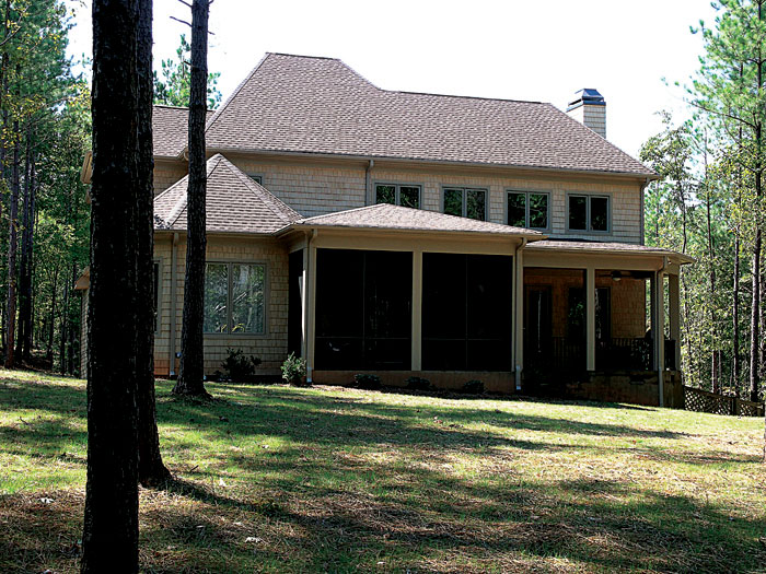 English Cottage Plan Rear Photo 01 - 129S-0025 | House Plans and More