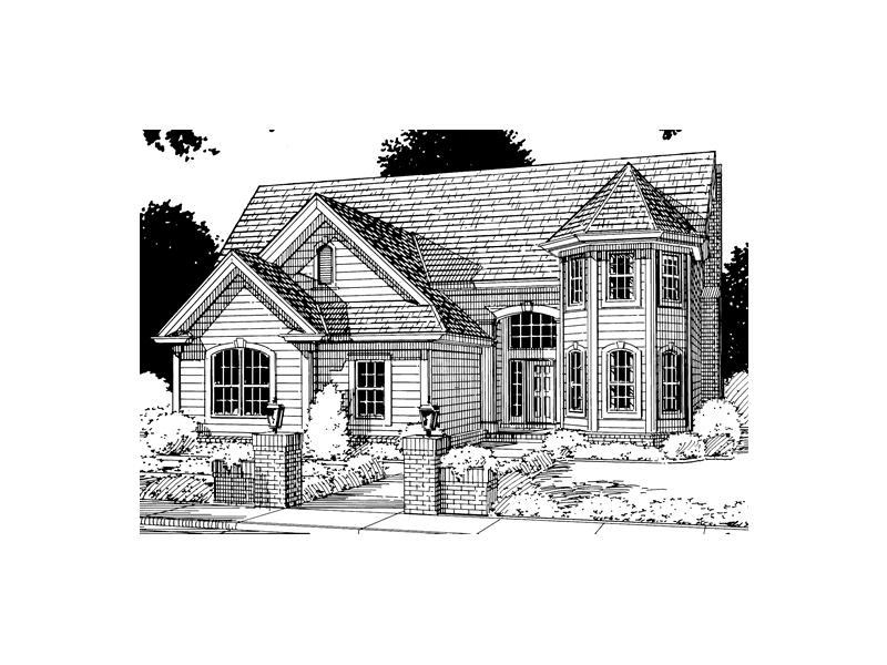 Eudora Park Victorian Home Plan 130d 0044 House Plans