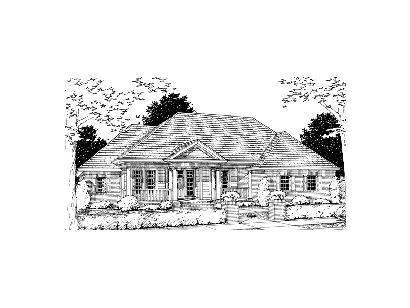 Menola Southern Ranch Home Plan 130d 0065 House Plans