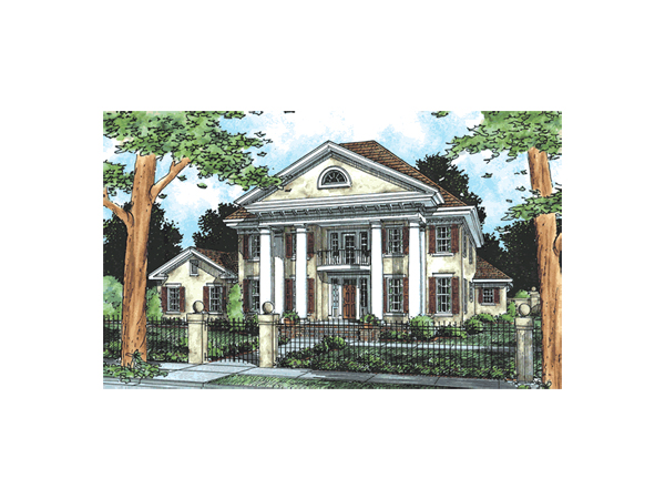 Orlando Plantation Southern Home Plan 130d 0081 House
