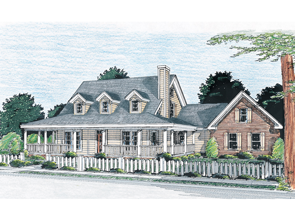 Chisholm trail acadian home plan 130d 0145 house plans for 2 story acadian house plans