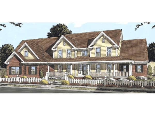 Penhurst Southern Luxury Home Plan 130d 0185 House Plans