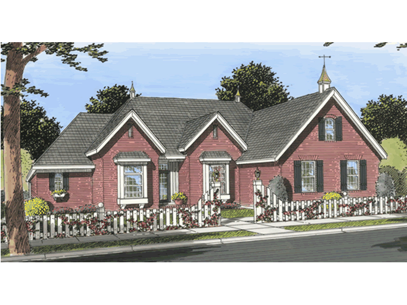 Devon Farm Country Home Plan 130d 0195 House Plans And More