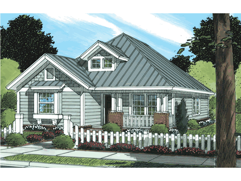 Heatherbrook Narrow Lot Home Plan 130d 0216 House Plans