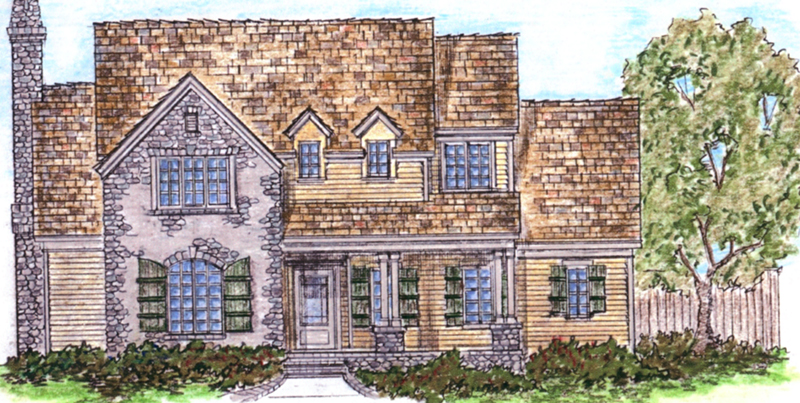 European House Plan Front of Home - 137D-0004 | House Plans and More