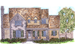 Ranch House Plan Front of Home - 137D-0004 | House Plans and More