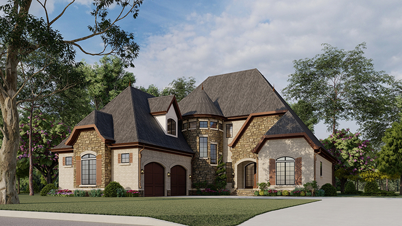 Ivy Cottage European Home Plan 155D 0007 House Plans and
