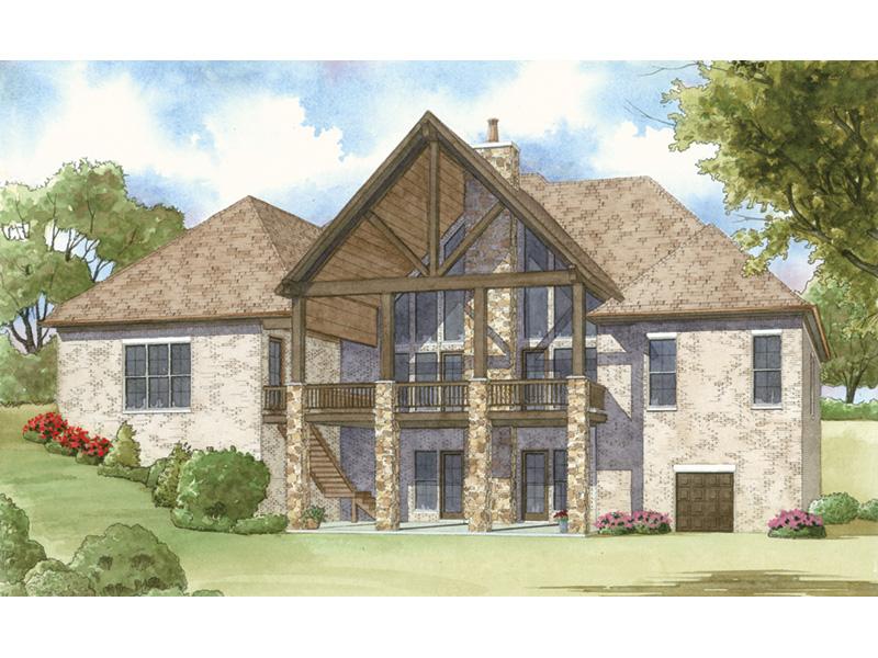 Croft European Ranch Home Plan 155D 0008 House Plans and