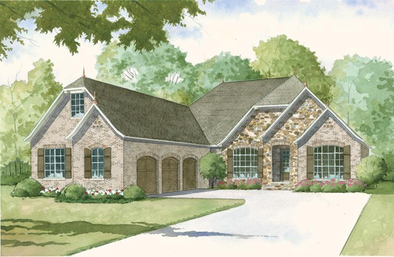 Huntcliff Cottage Ranch Home Plan 155d 0013 House Plans